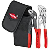 Knipex Tools 00 20 72 V01 Mini Pliers in Belt Pouch, Red, 2 Piece
