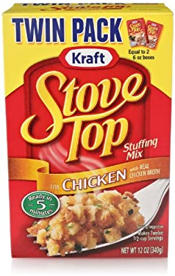 Stove Top Stuffing Mix, Chicken, 12 Ounce Box from Stove Top