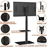 Universal Floor TV Stand with Mount for 19 to 42