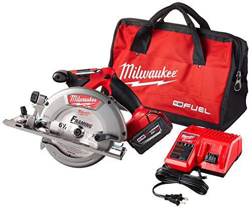 Milwaukee 2730-21 M18 Fuel 6 1 2 Circ Saw 1 Bat Kit