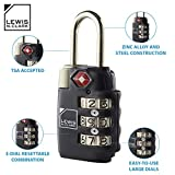 Lewis N. Clark Travel Sentry Combo Lock, Large