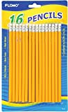 16 count No.2 Yellow Pencils 48 pcs sku# 1916172MA