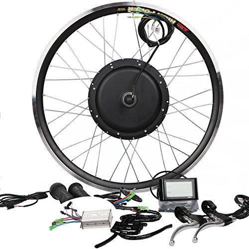 LCD Tire Theebikemotor 16 Casted Wheel 48V750//36V500W//48V500W Hub Motor Ebike Bicicleta EL/ÉCTRICA KIT DE CONVERSI/ÓN