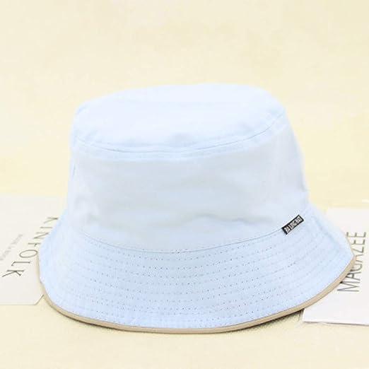kyprx Gorra Sombrero Sombreros para Hombres Hop Bucket Hats ...