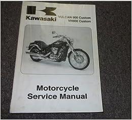 kawasaki vulcan 900 custom service manual pdf