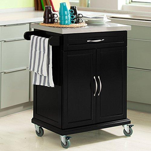 Haotian Kitchen Storage Trolley cart,Kitchen Trolley cart (FKW13-SCH-1) ()