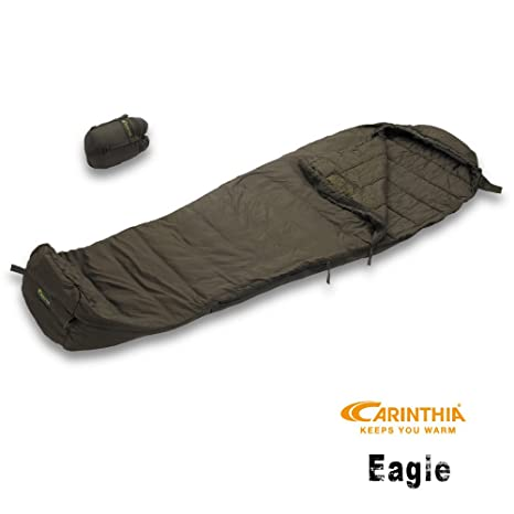 Carinthia 92100 - Saco de dormir momia para acampada