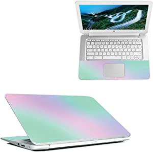 "Mightyskins Skin Compatible with Hp Chromebook 14"" (2018) - Cotton Candy 