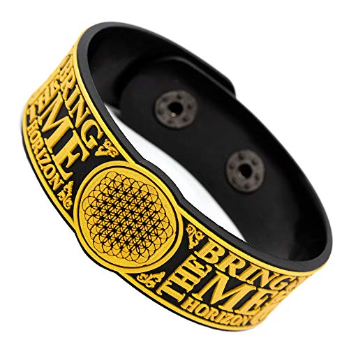 RockbandFan Bring Me The Horizon Wristband Rubber Bracelet v3 (Best Of Bring Me The Horizon)