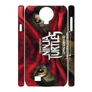 Hjqi - Custom Teenage Mutant Ninja Turtles 3D Phone Case, Teenage Mutant Ninja Turtles Customized Case for SamSung Galaxy S4 I9500