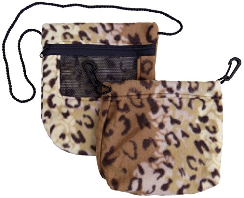 Vinyl Combo Pouch - Bonding & Sleeping Pouch Combo Bundle for Sugar Gliders and small pets (Jaguar)