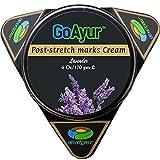GoAyur Ayurvedic Post Stretch Marks Cream- 6 oz Herbal Stretch Marks Removal & Natural Body Moisturizing Cream, 100% Herbal Actives, Natural Fragrance
