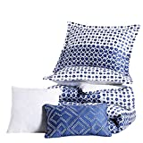 Anne Klein Isola Striped Comforter Set with