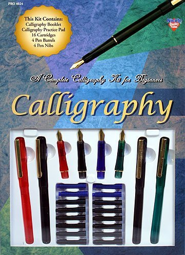 Complete-Calligraphy-Pen-Starter-Kit-For-Beginners-wInstruction-Booklet