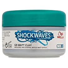 Wella Shockwaves Ultimate Effects Texture Go Matte Clay (75ml)