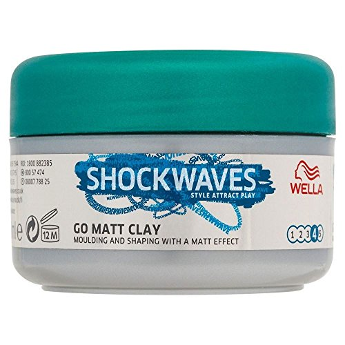 Wella Shockwaves Ultimate Effects Texture Go Matte Clay  - P