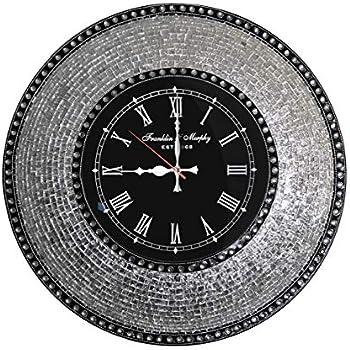 Amazon Com Decorshore Decorative Mosaic Wall Clock 22 5