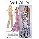 McCalls Ladies Sewing Pattern 7540 Top, Skirt, Dress & Jumpsuit
