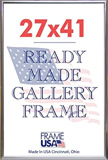 product image for Lot of 3,6,12 Or 24 27x41 Deluxe Poster Frames Options (Gold, Black & Silver) (6, Silver)