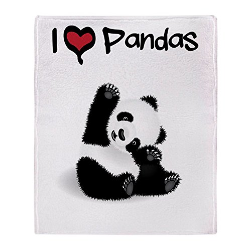 - CafePress - Baby Panda - Soft Fleece Throw Blanket, 50