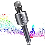Best Bluetooth Microphones - Wireless Bluetooth Karaoke Microphone Premium Portable Handheld Microphone Review