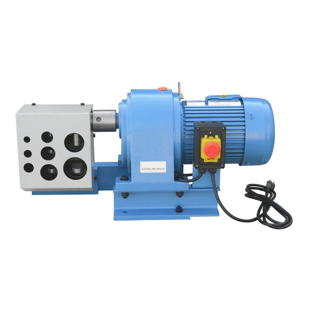 2 HP Electric Tubing Angled Pipe Notcher Tube Punch Press Metal Cut 1/4 3/8 1/2 3/4 1 1-1/4 1-1/2 2'' 1740 RPM 1500W
