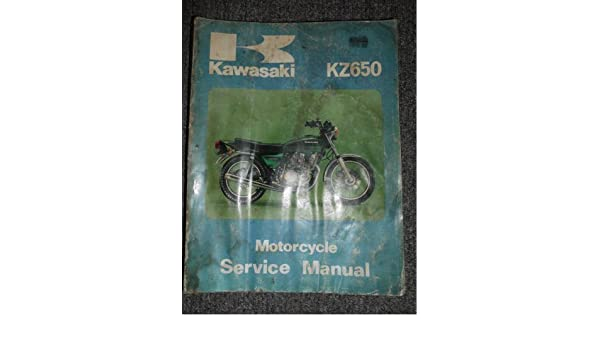 kawasaki kz650 1976 1980 service repair manual