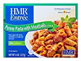 HMR Penne Pasta with Meatballs in Sauce, 8 oz. servings, 6 Count