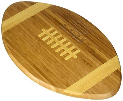 NCAA LSU Fightin Tigers Touchdown! Bamboo Cutting Board, 16-Inch
