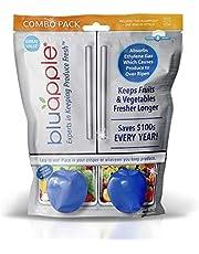 Bluapple Produce Saver Freshness Balls 1 Year Combo Pack Extend Produce Life Keep Produce Fresh Longer