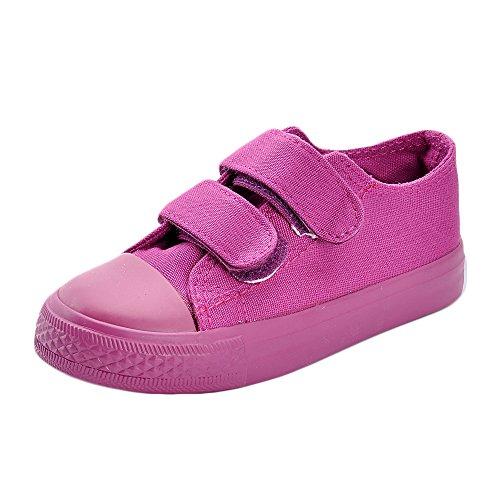 MK MATT KEELY Kids Canvas Shoes Boy Girl Unisex Sneakers Children Loafers School Board Shoes Purple(Toddler/Little Kid),Purple,9 M US Toddler/6.3