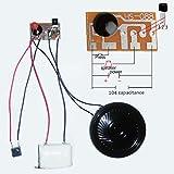 10Pcs Doorbell Alarm Three Time Circulation Sound