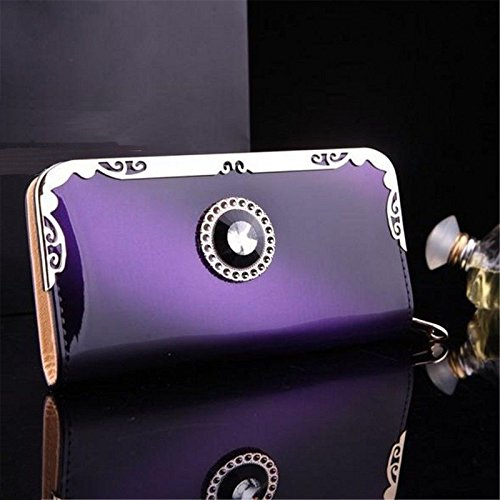 NEW Designed Fashion Lady Women Zip Clutch Long Purse Leather Wallet Card Holder Handbag Bags,Very Fashion and Good quality