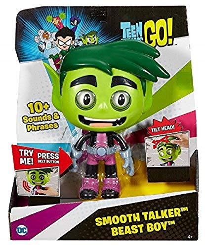 Mattel Teen Titans Go! Smooth Talker Beast Boy Figure Action Figure ()