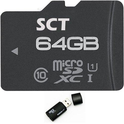 SCT Performance 64GB SCT MicroSD XC MicroSDXC Class 10 Me...