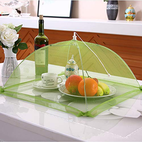 17''x17'' Pop-Up Mesh Screen Food Cover Tents - Keep Out Flies, Bugs, Mosquitos - Reusable and Collapsible(6 Pack) by Casolly (Image #4)