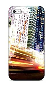 7821676K13506688 New Super Strong Manhattan New York City Tpu Case Cover For Iphone 5c
