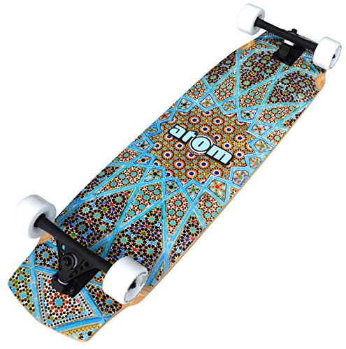 Atom Longboards Atom Freeride / Downhill Longboard – 37″ , Magic Carpet