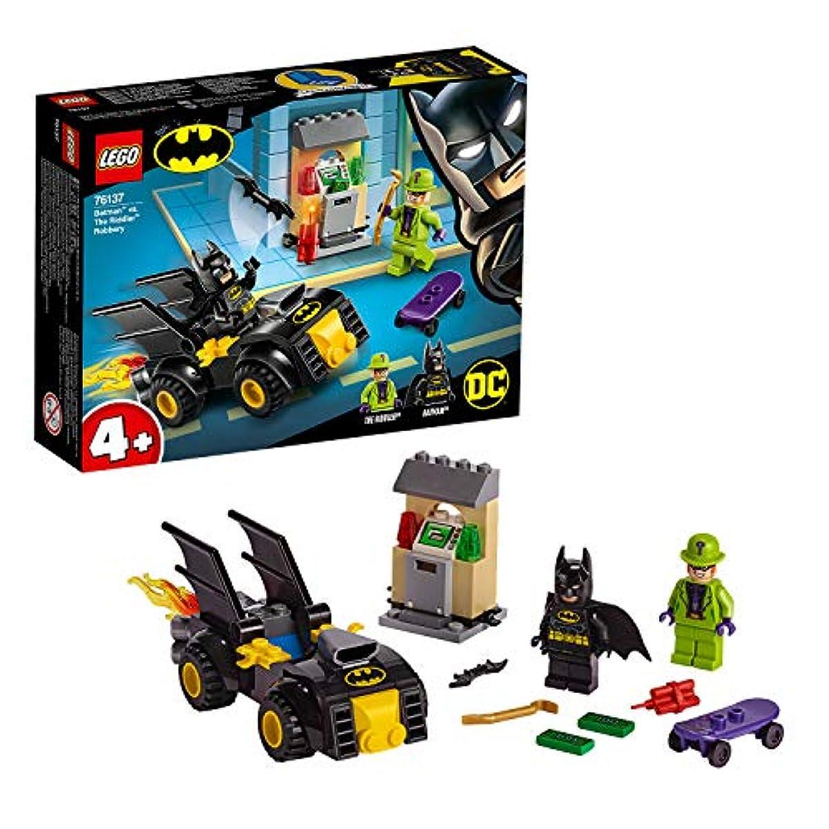 [해외] 레고(LEGO) 슈퍼히어로즈 배트맨(TM) VS.리들러(TM) 의 강도 76137 블럭 장난감 사내 아이