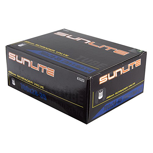 Sunlite Standad Schrader Valve Tubes, Multiple Sizes