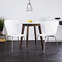 Holly & Martin Cadby Bentwood Dining Chairs (Set of 2) - White
