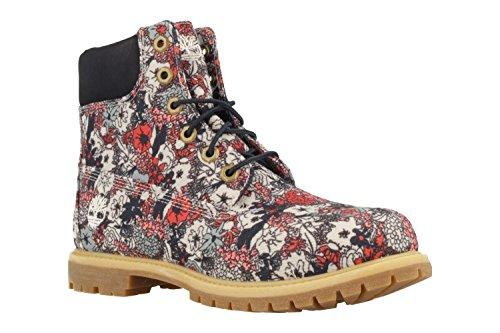 6in Fabric Classic Boots Bib Adults' Unisex Multicolour Premium Timberland Multicolour 7xqvRwZ