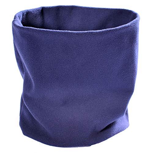 (Lupa Canadian Handmade 2-Ply Micro Fleece Neck Warmer/Gaiter (Navy))