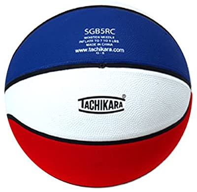 Tachikara Rubber Basketball, Red White and Blue