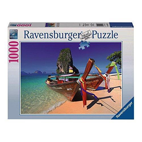 Ravensburger Caribbean Boats Puzzle (1000-Piece)