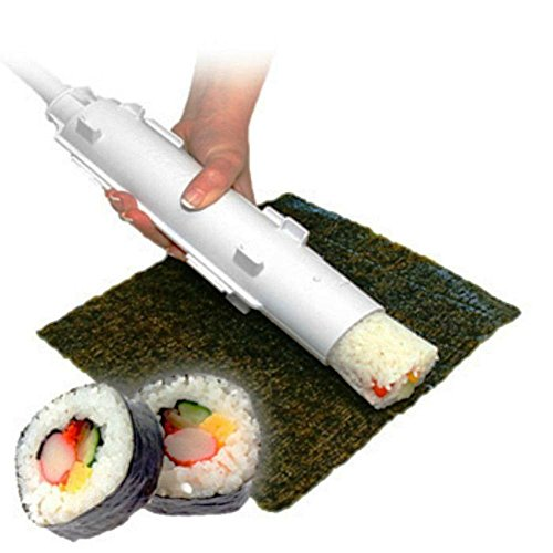 H&K Kitchen Tool 2 Pcs Sushi Bazooka Kitchen Food Mold Tool Cooking Shape Tube Easy Maker