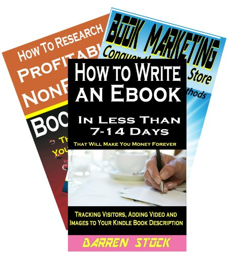 How to Write a Book: The Complete Kindle Self Publishing Trilogy - How to Write an eBook, How to Research Profitable Nonfiction Book Ideas & 41 Ways to Market and Sell More Books