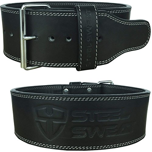 Steel Sweat Powerlifting Belt for Weight Lifting - 4
