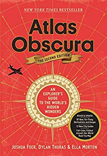 Book Cover: Atlas Obscura, 2nd Edition: An Explorer's Guide to the World's Hidden Wonders