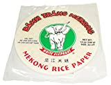 Spring Roll Mekong Rice Paper Wrapper Vietnamese Banh Trang (Pack of 3) (22cm)